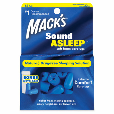 Sound Asleep® Soft Foam Ear Plugs