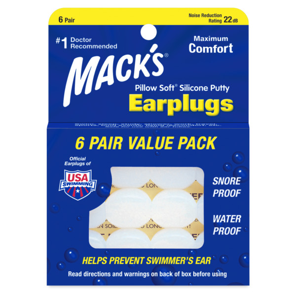 Pillow Soft® Silicone Putty Ear Plugs
