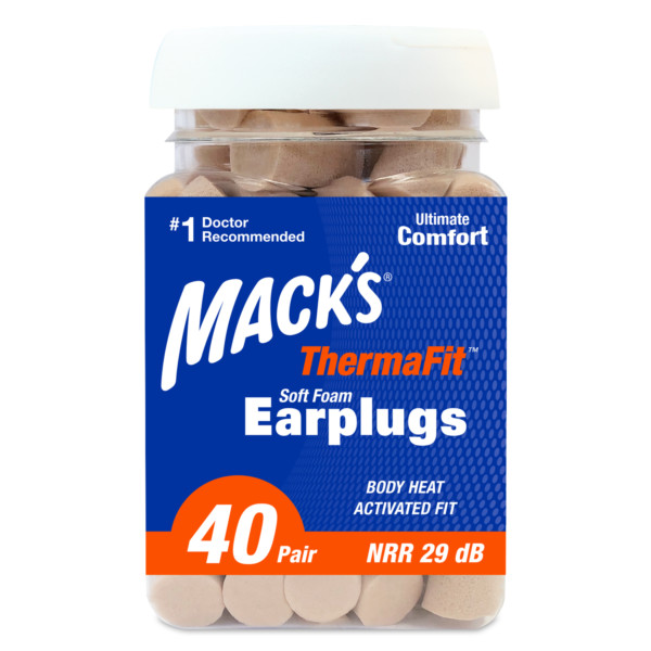 ThermaFit™ Soft Foam Ear Plugs