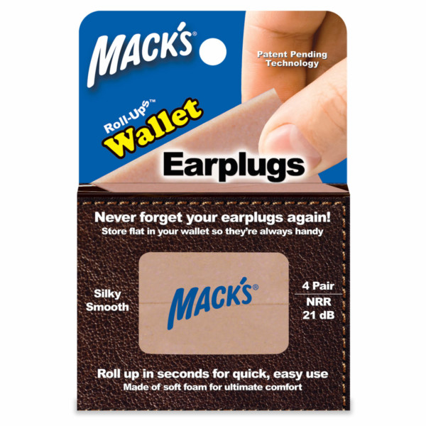 Roll-Ups™ Wallet Ear Plugs