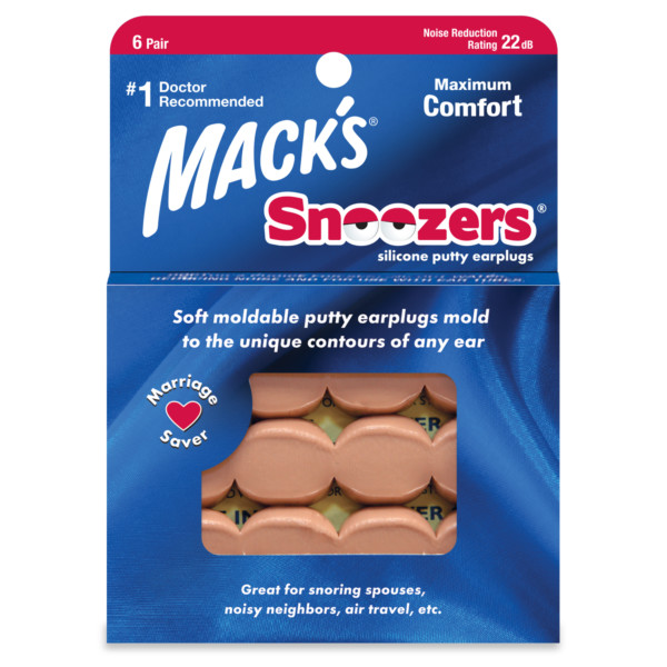Snoozers® Silicone Putty Ear Plugs
