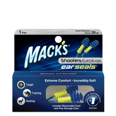 Shooters Ear Seals Ear Plugs 1 Pair Box