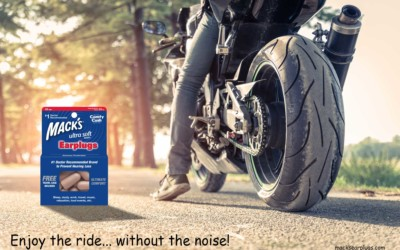 Enjoy the ride… without the noise! Motorcycle Ear Plugs.