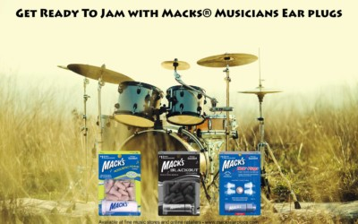 Get ready to jam with Mack's Musicians Ear Plugs