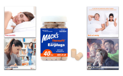 Mack's® ThermaFit Soft Foam Earplugs are back by popular demand!