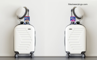 Travel in Style AND Comfort with Mack's Travel Earplugs
