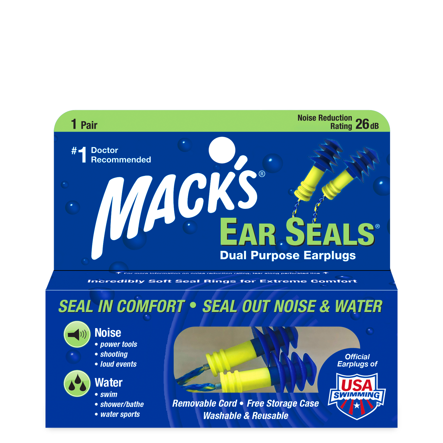 Macks Ear Seals Earplugs 6-22-2020