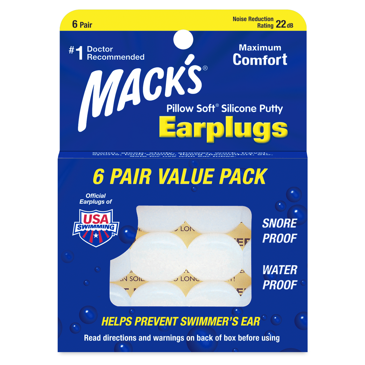 Silicone Ear Plugs 6-22-2020
